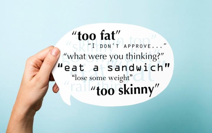 Fat shaming vs genuine care: the fineline